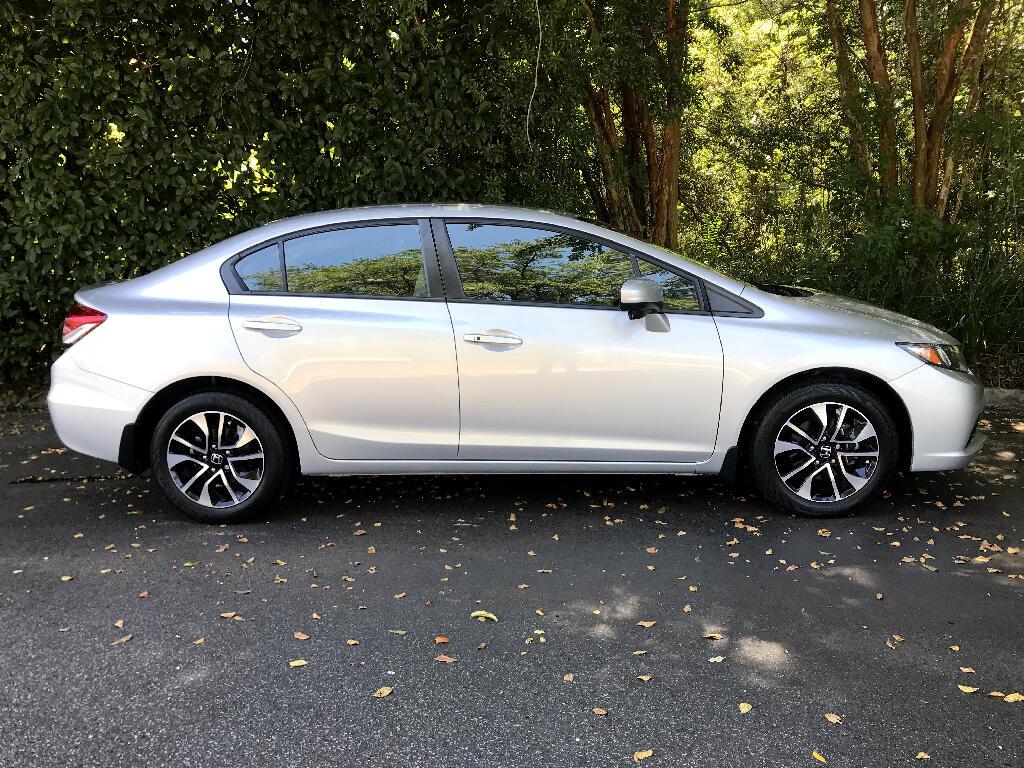 2015 Honda Civic Sedan 4 Door EX
