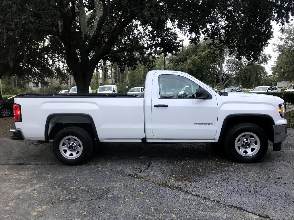 2017 GMC Sierra 1500 2WD Regular Cab With An 8 Foot Bed