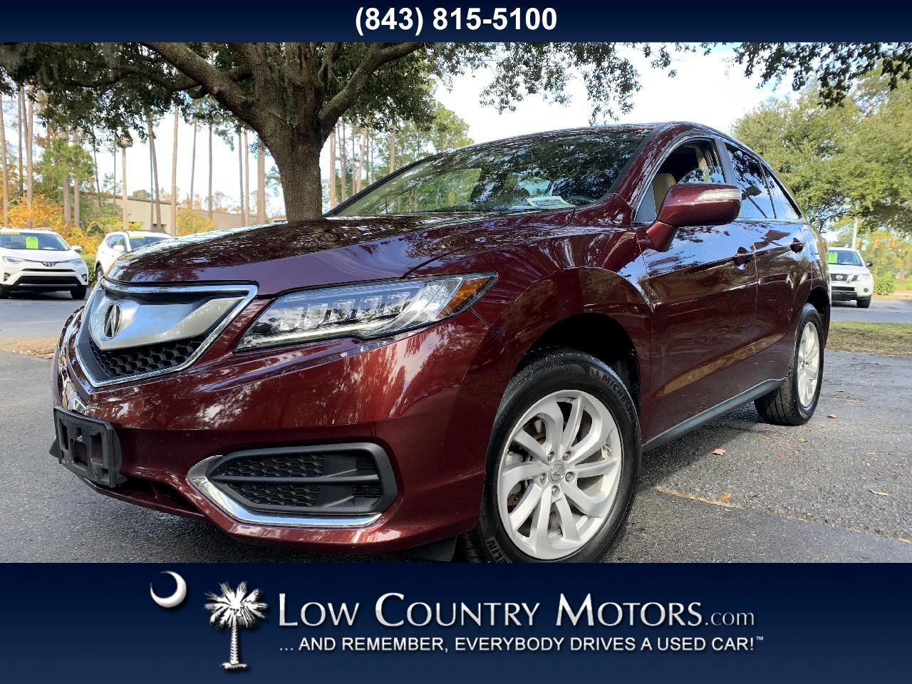 Acura RDX FWD w/Technology/AcuraWatch Plus Pkg 2017