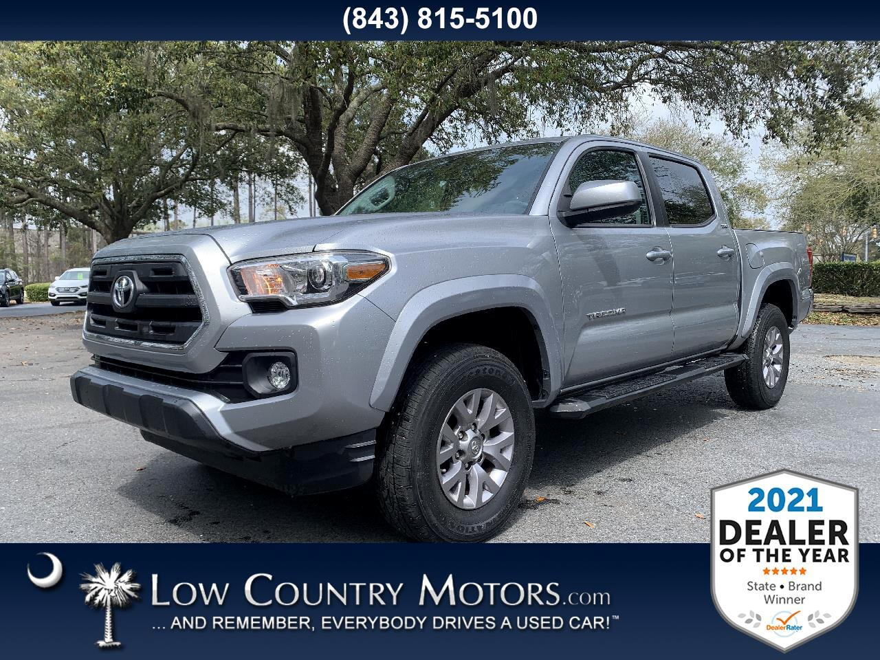 Toyota Tacoma SR5 Double Cab 5' Bed V6 4x2 AT (Natl) 2017