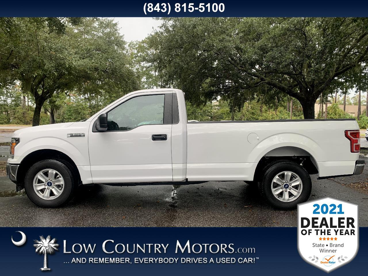 Ford F-150 XL 2WD Reg Cab 8' Box 2019