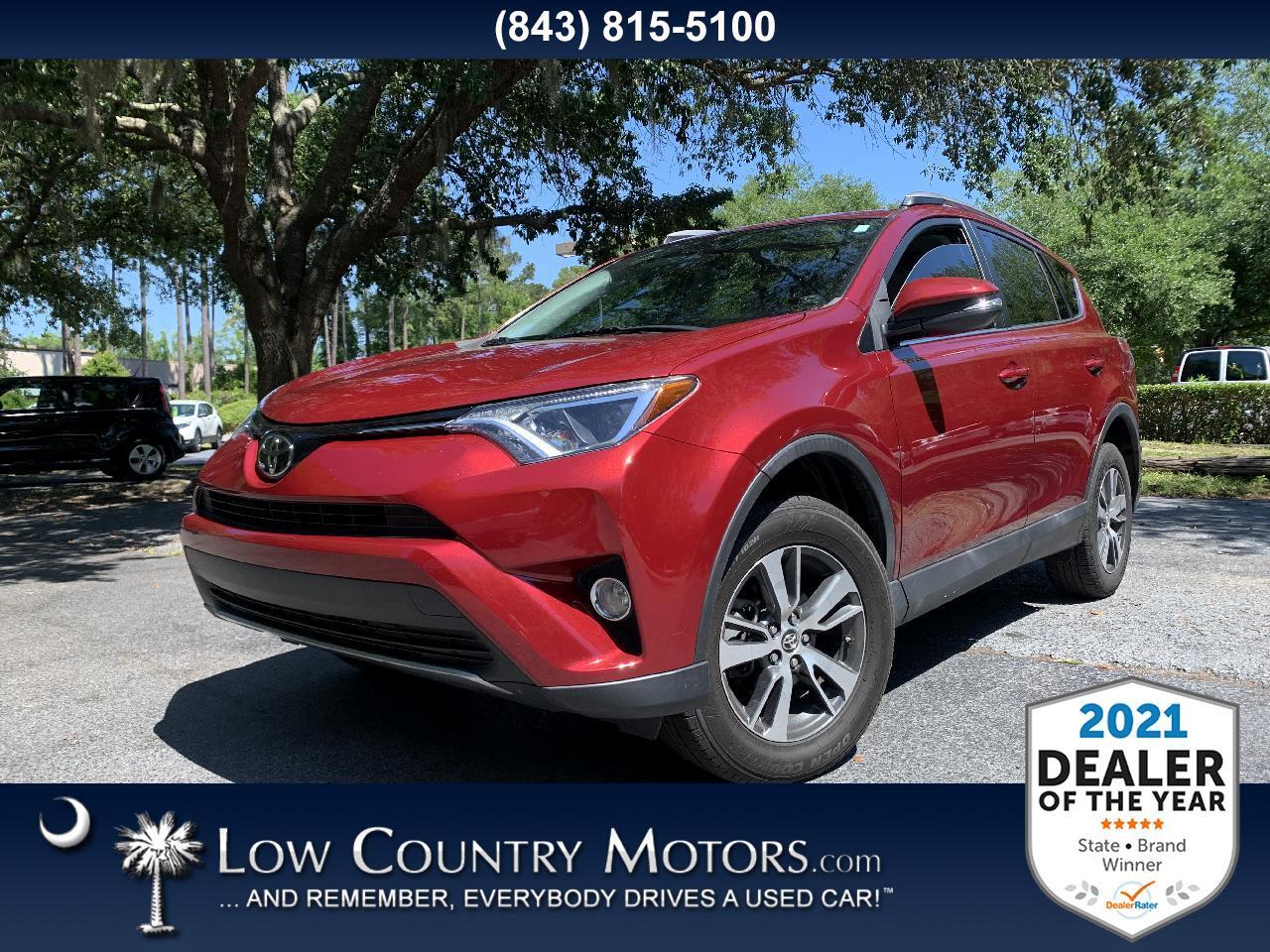 Toyota RAV4 XLE FWD (Natl) 2018