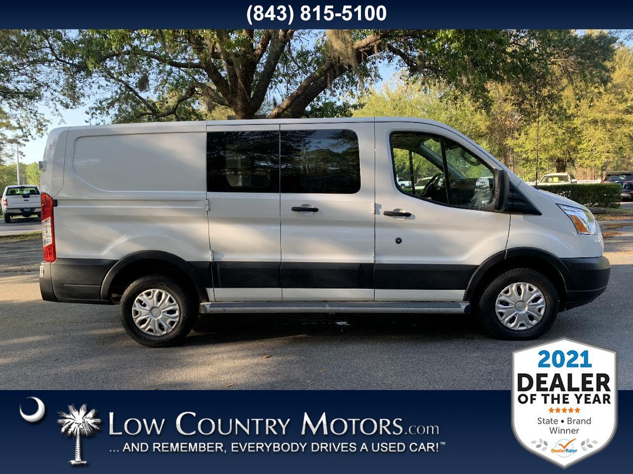 "Ford Transit Van T-250 130"" Low Rf 9000 GVWR Swing-Out RH Dr 2019"