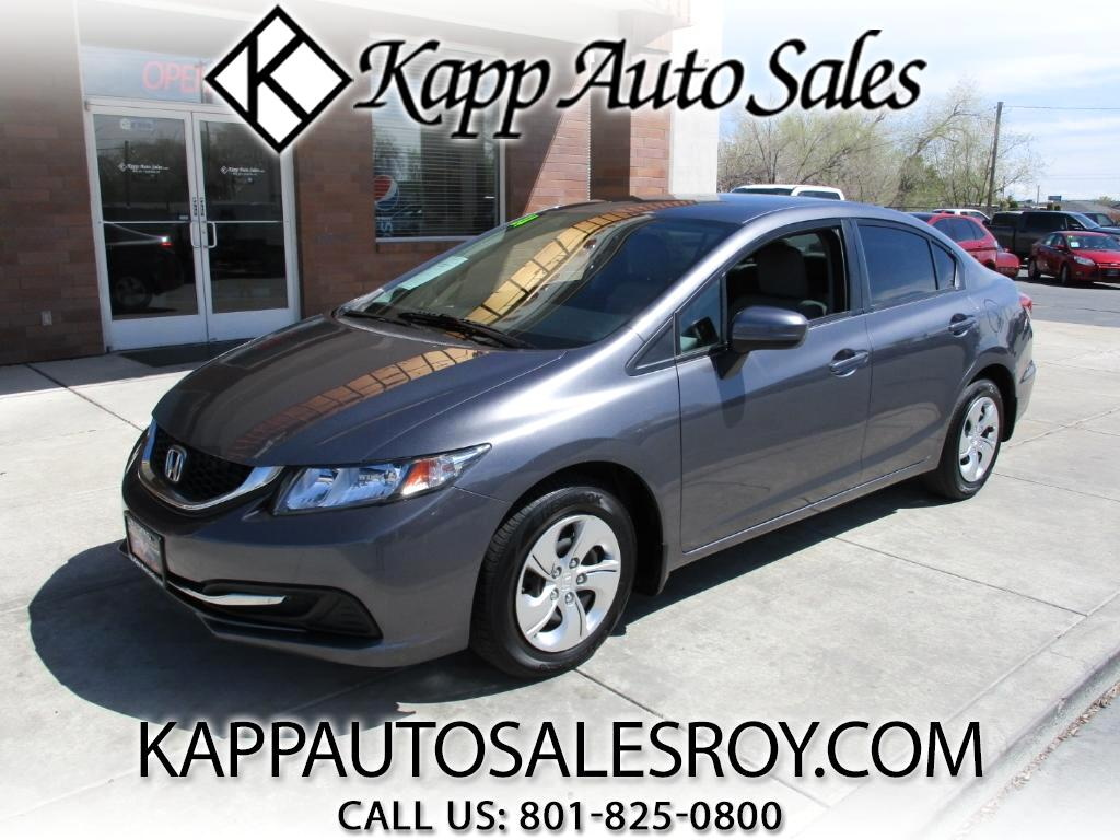 2014 Honda Civic LX Sedan 5-Speed MT