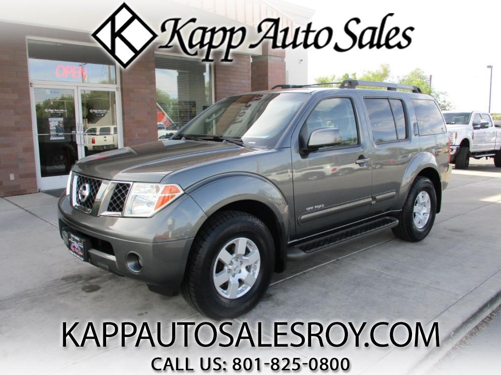 2005 Nissan Pathfinder SE Off Road 4WD
