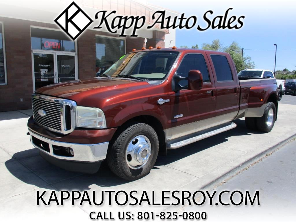 2006 Ford F-350 SD King Ranch Crew Cab Long Bed 2WD DRW