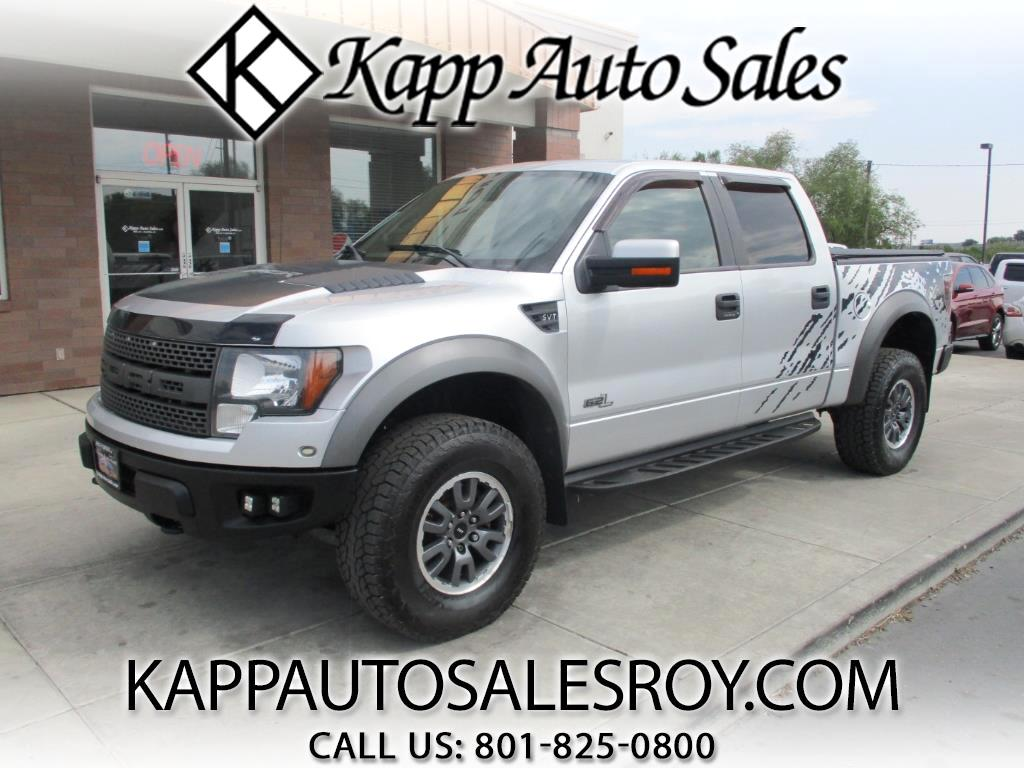2011 Ford F-150 4WD SuperCrew SVT Raptor