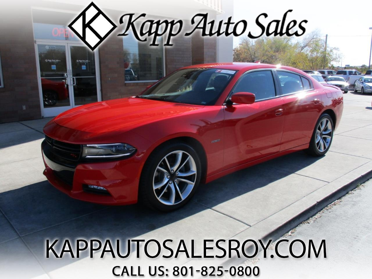2015 Dodge Charger 4dr Sdn Road/Track RWD