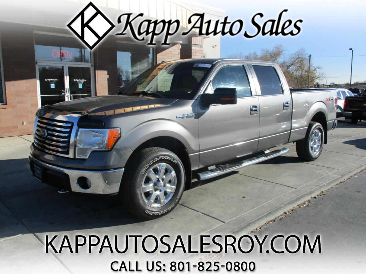 2010 Ford F-150 4WD SuperCrew XLT