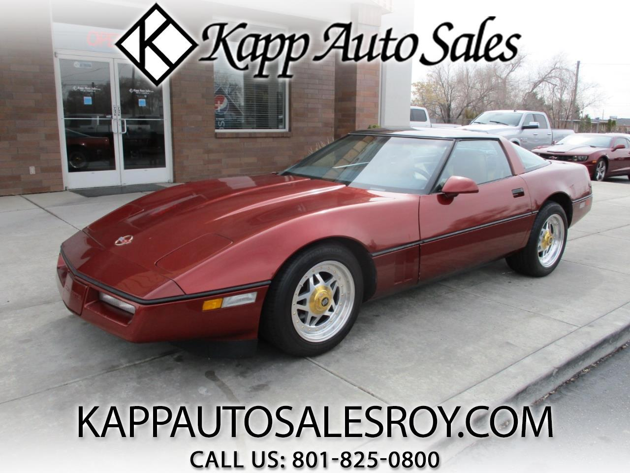 1986 Chevrolet Corvette 2dr Hatchback Coupe