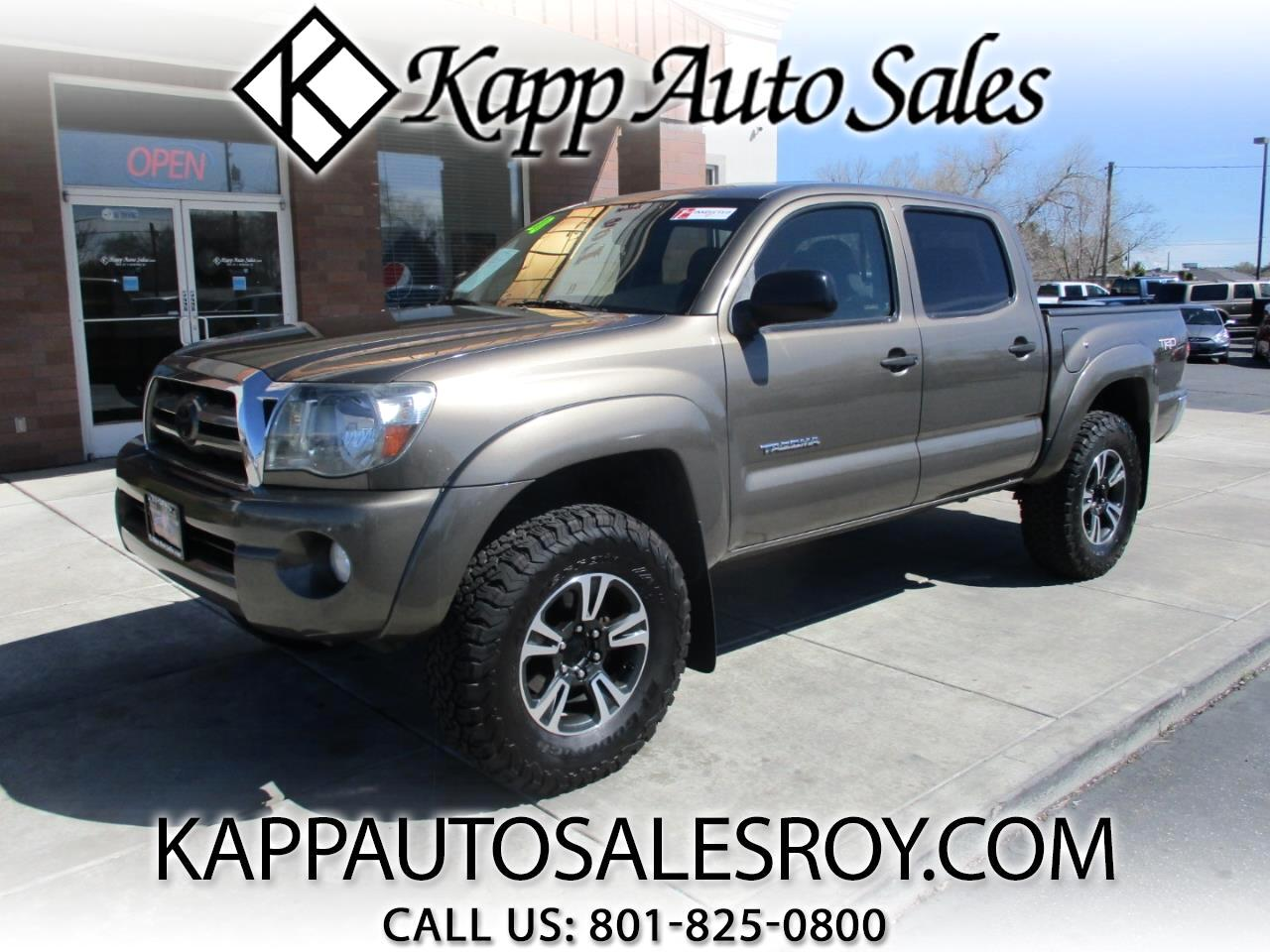 2010 Toyota Tacoma 4WD Double Cab SR5 V6 TRD Off Road
