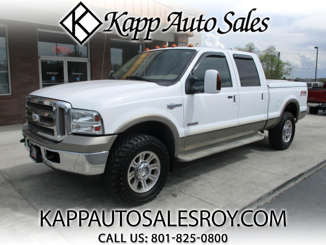"2005 Ford Super Duty F-250 Crew Cab 156"" King Ranch 4WD"