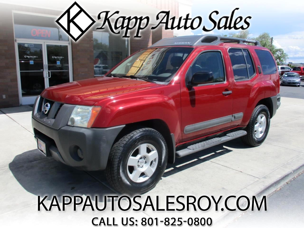 Used 2006 Nissan Xterra 4wd 4dr Manual S For Sale In Roy