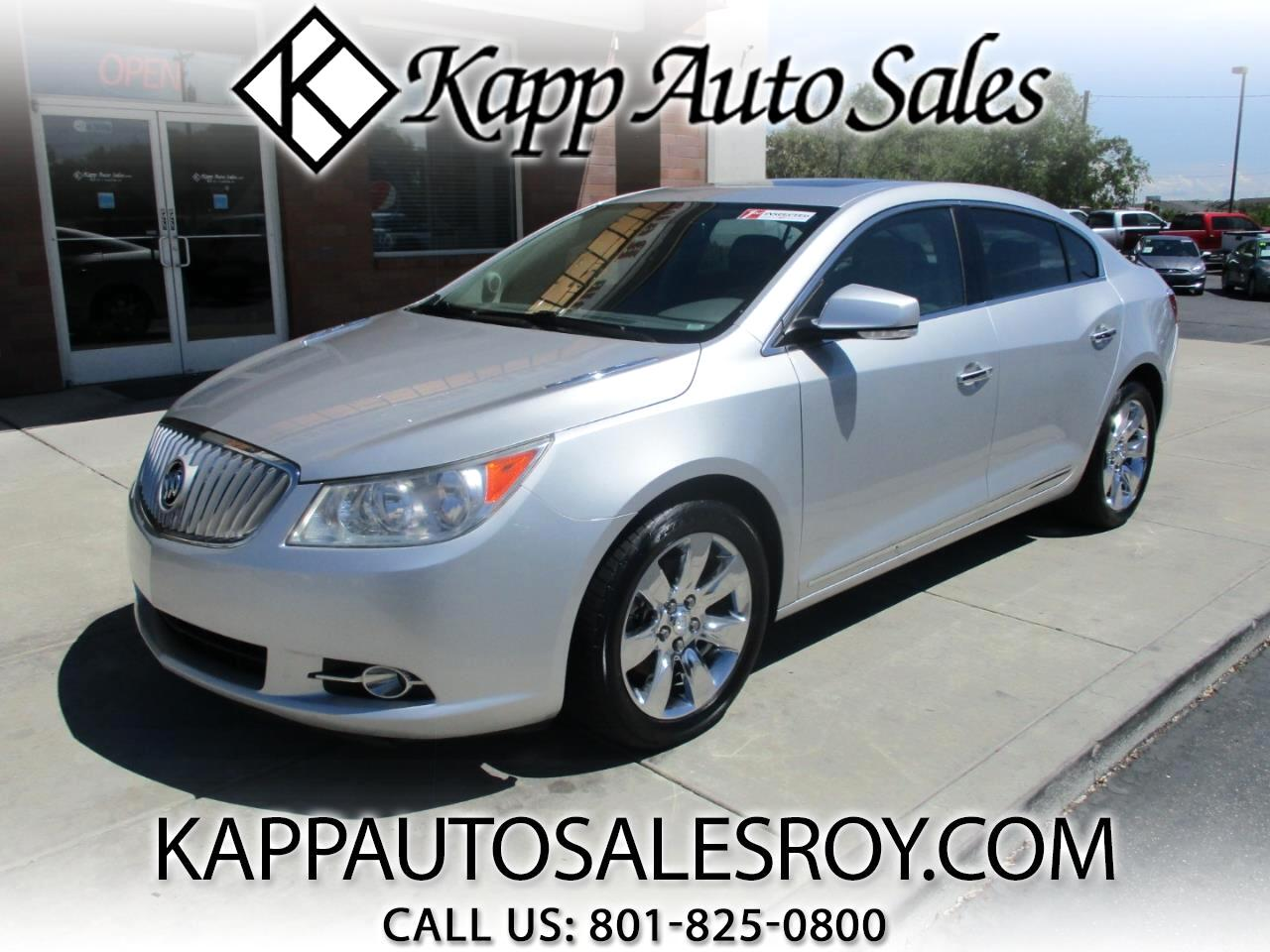 2010 Buick LaCrosse 4dr Sdn CXL AWD