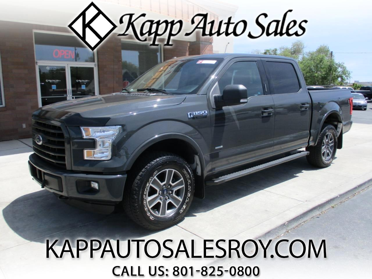 2016 Ford F-150 XLT SuperCrew 4WD Sport