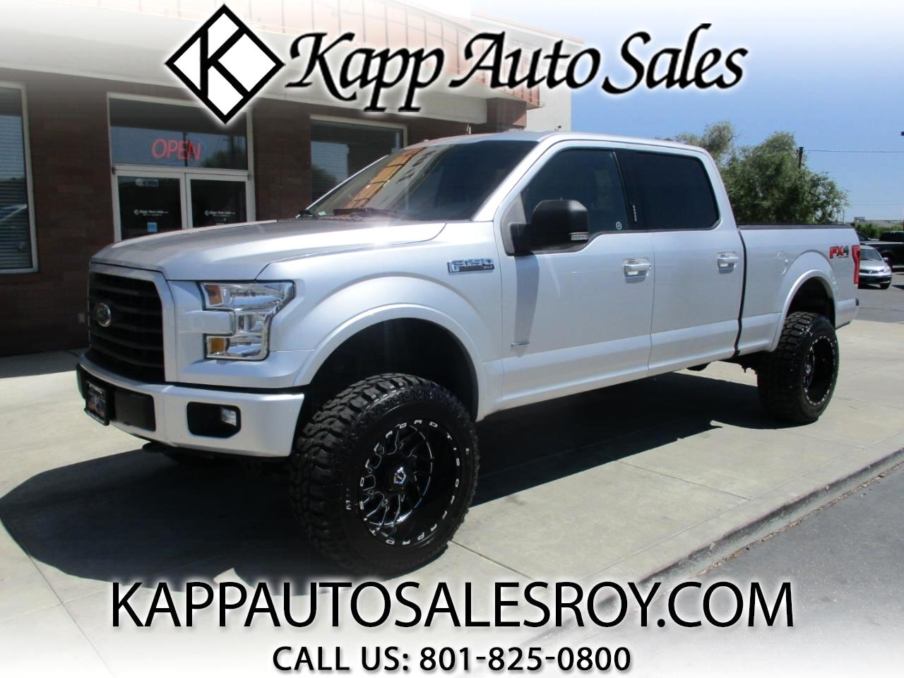 2016 Ford F-150 XLT Sport SuperCrew 6.5-ft Bed 4x4