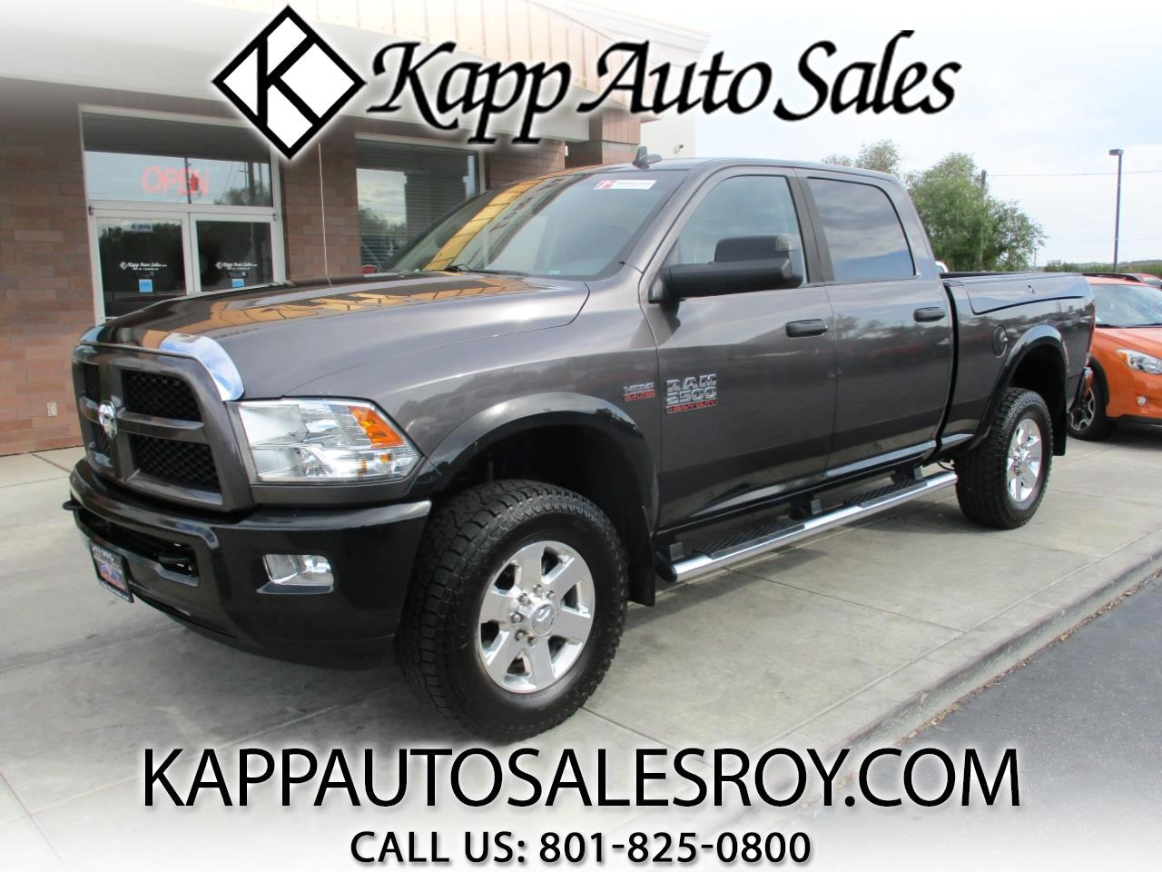 "2015 RAM 2500 Outdoorsman 4x4 Crew Cab 6'4"" Box"