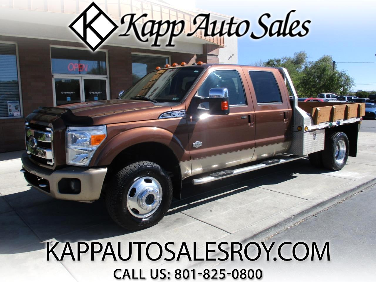 2011 Ford F-350 SD King Ranch Crew Cab 4WD DRW