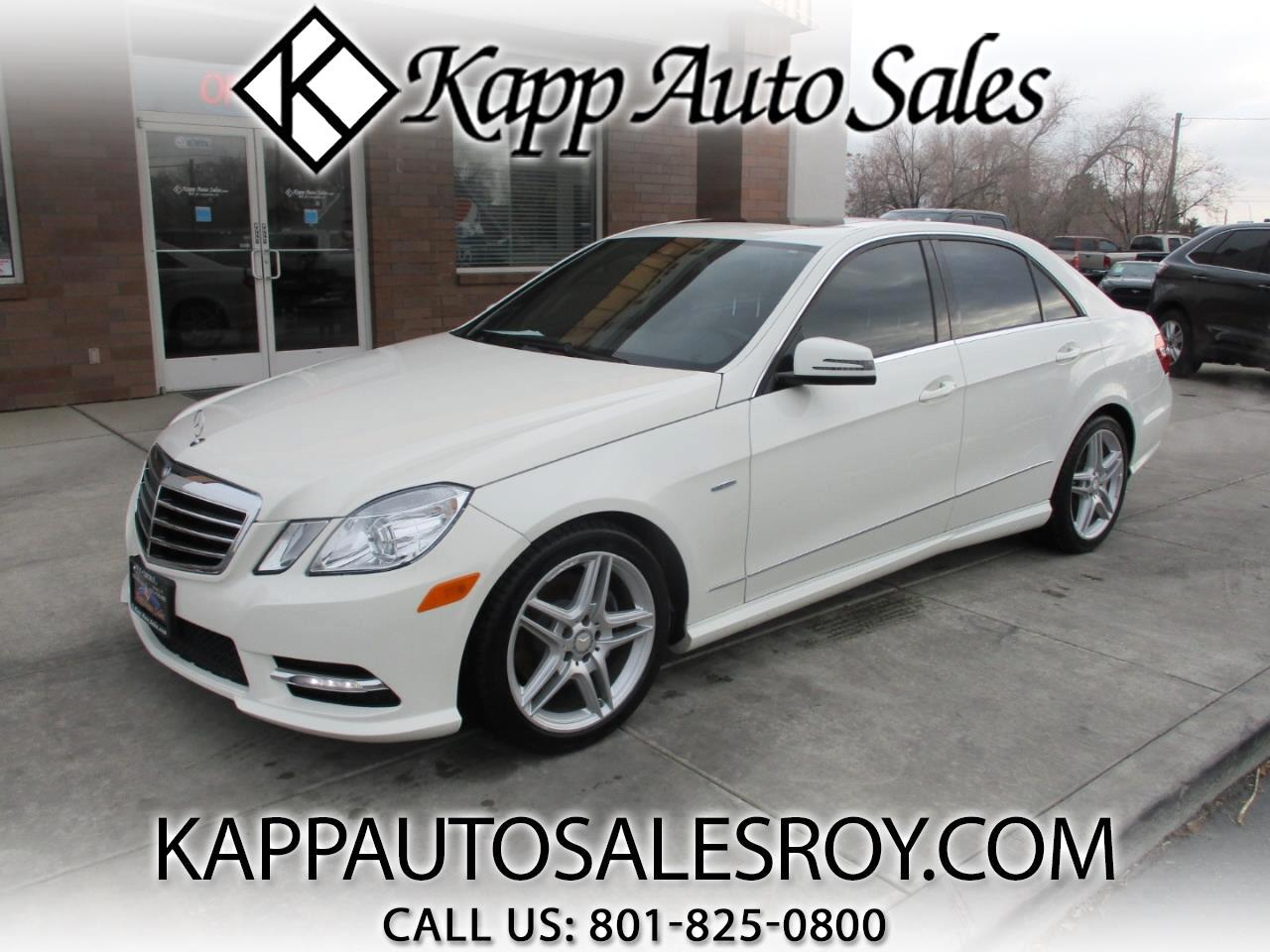 Mercedes-Benz E-Class 4dr Sdn E 350 Luxury RWD 2012
