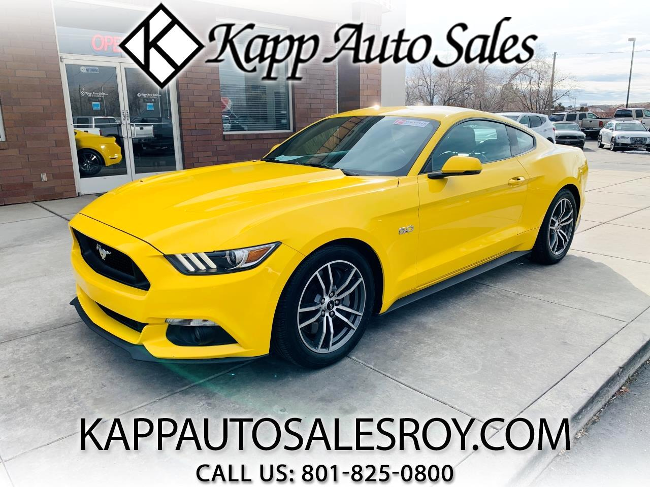 Ford Mustang 2dr Fastback GT Premium 2016