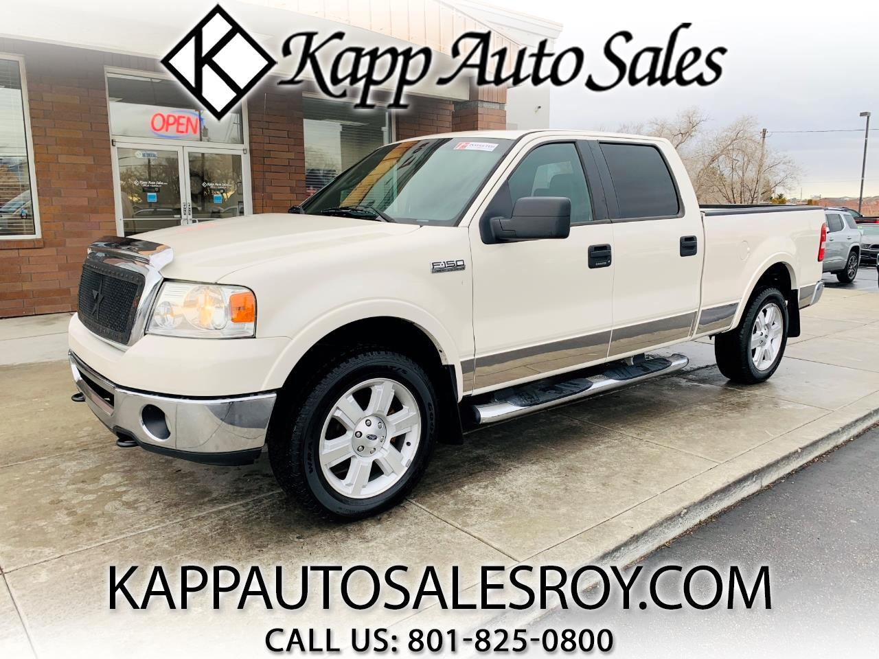 "Ford F-150 4WD SuperCrew 150"" Lariat 2007"