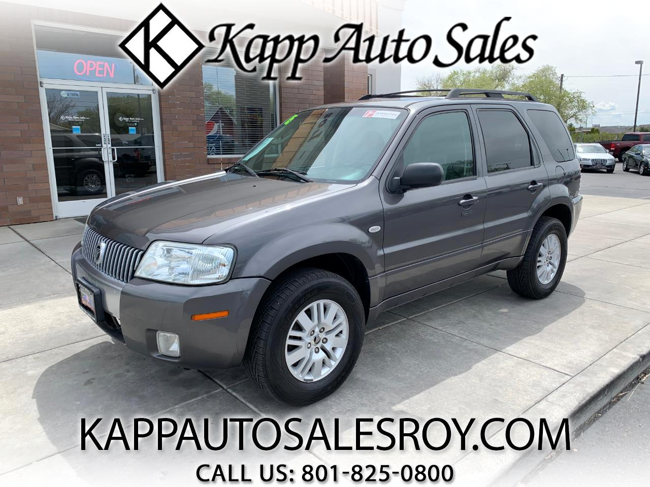 "Mercury Mariner 4dr 103"" WB Convenience 4WD 2005"