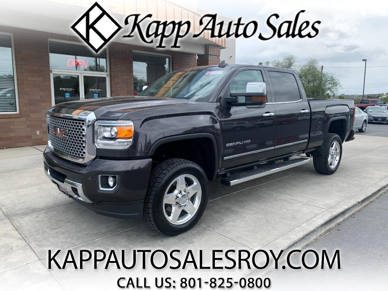 "GMC Sierra 2500HD available WiFi 4WD Crew Cab 153.7"" Denali 2015"