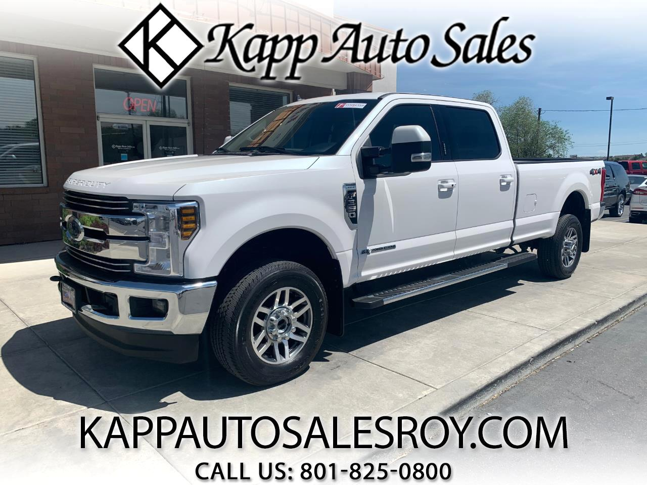 Ford Super Duty F-350 SRW Lariat 4WD Crew Cab 8' Box 2019