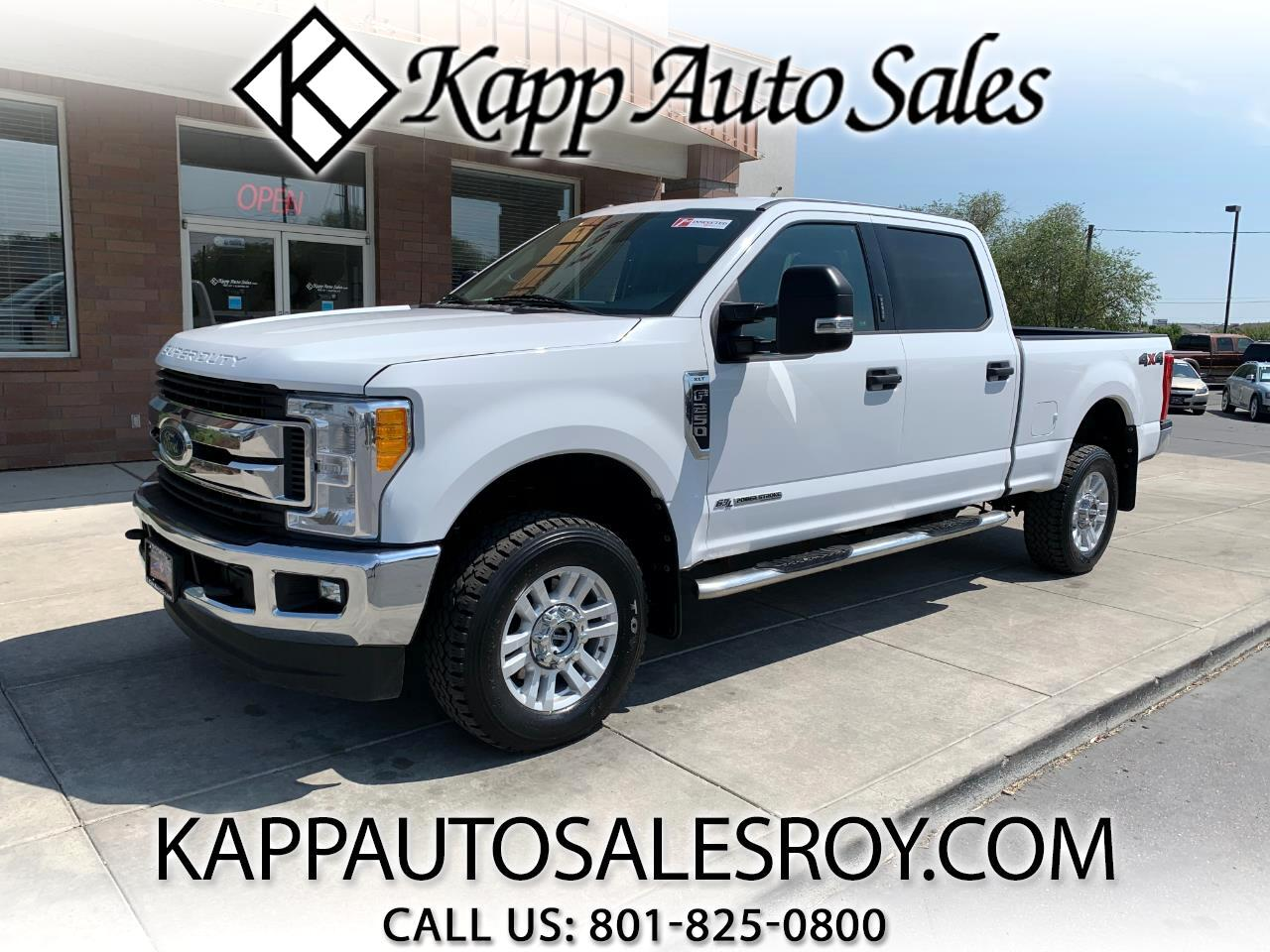 Ford Super Duty F-250 SRW XLT 4WD Crew Cab 6.75' Box 2017