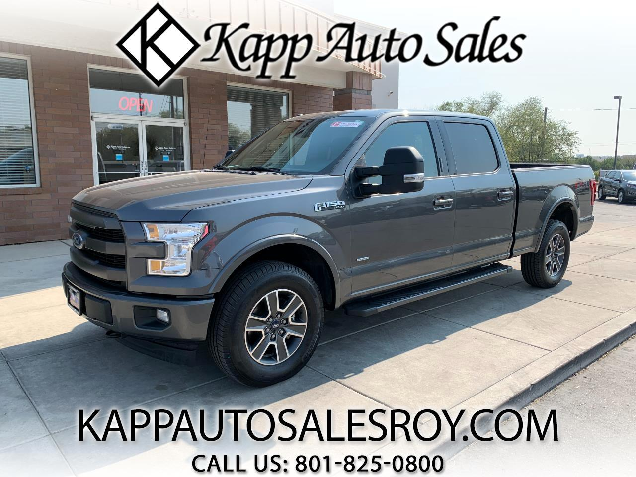 Ford F-150 Lariat 4WD SuperCrew 6.5' Box 2017