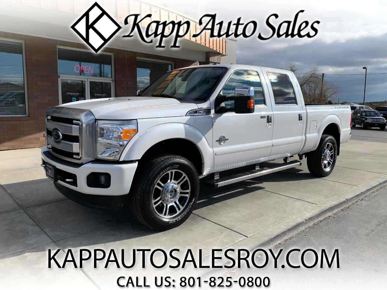 "Ford Super Duty F-350 SRW 4WD Crew Cab 156"" Platinum 2016"