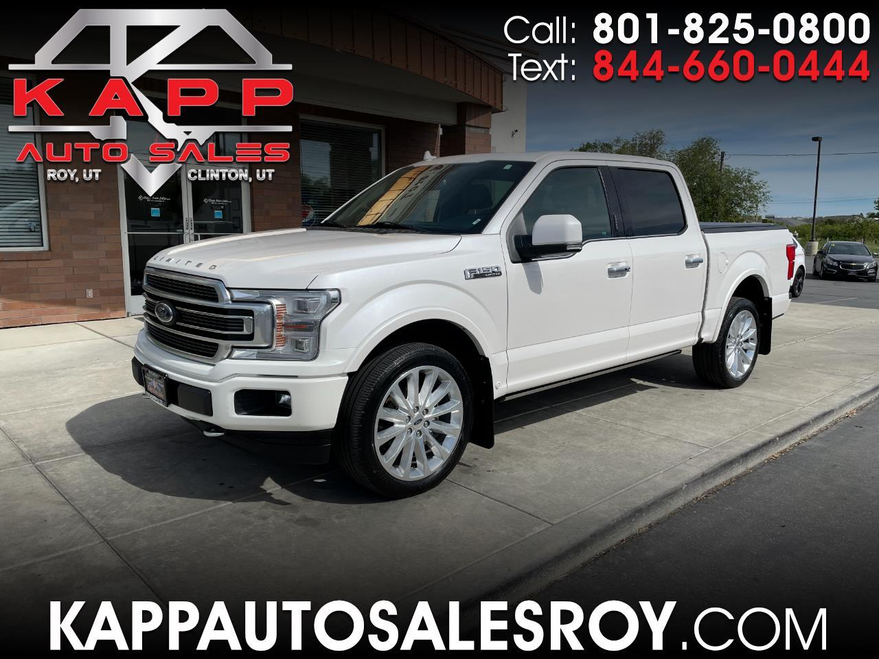 Ford F-150 Limited 4WD SuperCrew 5.5' Box 2018
