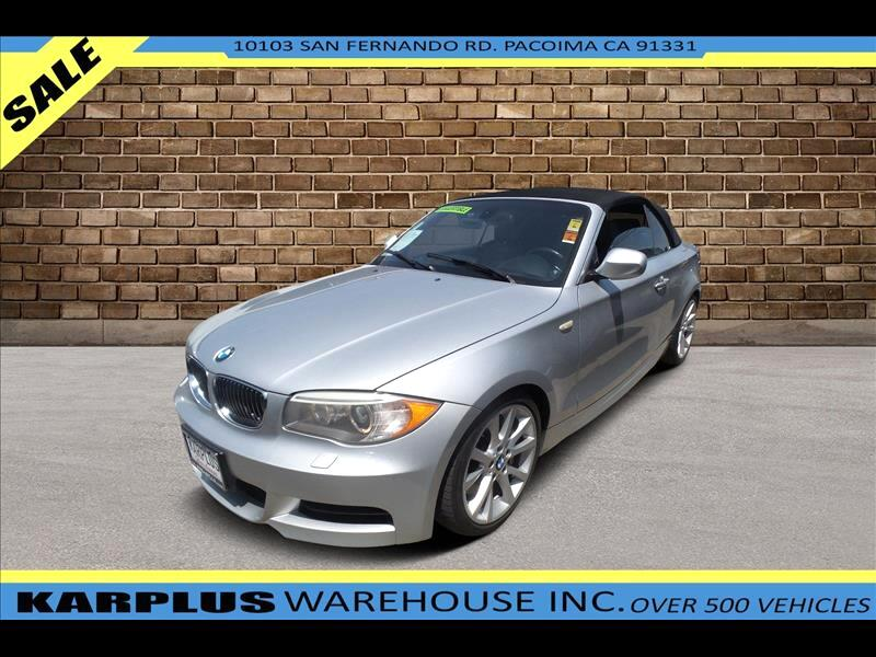 BMW 1-Series 135i Convertible 2013