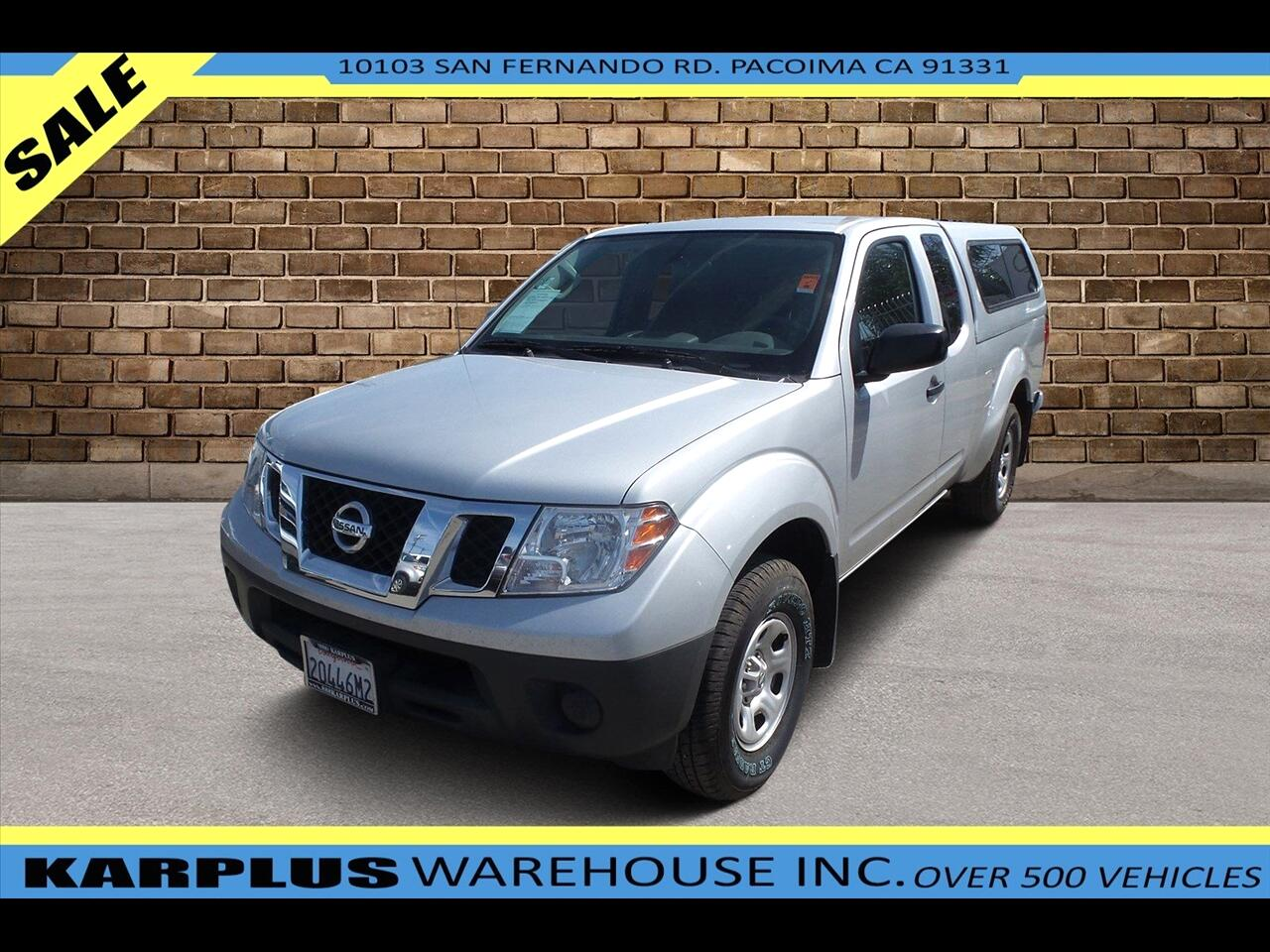 Nissan Frontier S King Cab I4 5AT 2WD 2018