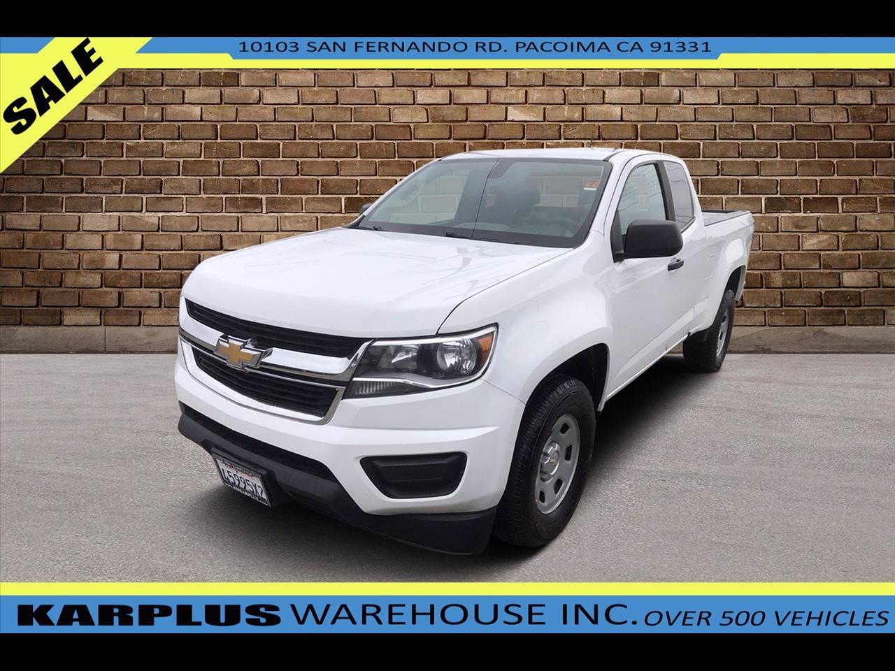 Chevrolet Colorado Work Truck Ext. Cab 2WD 2018