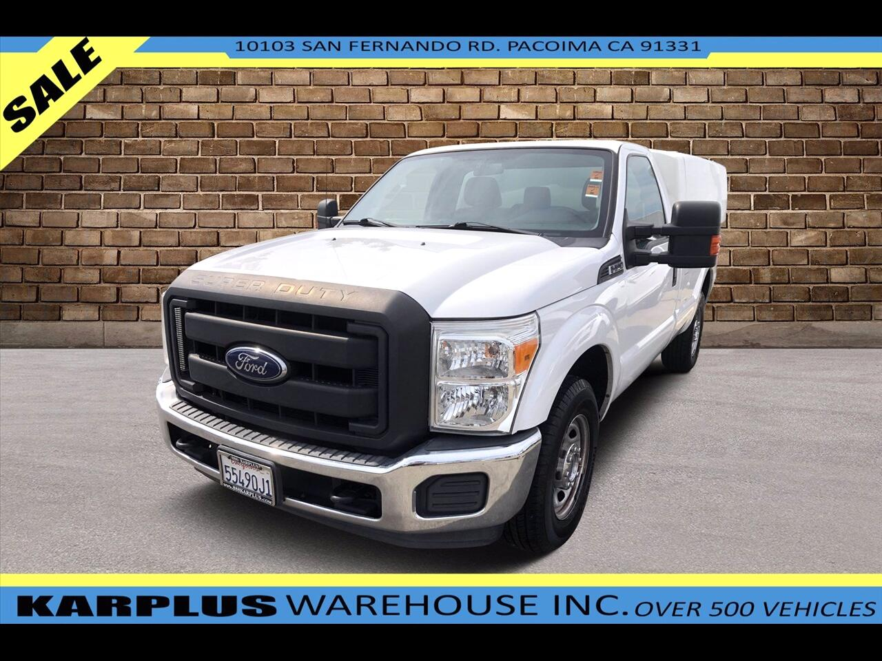 Ford F-250 SD XL 2WD 2016
