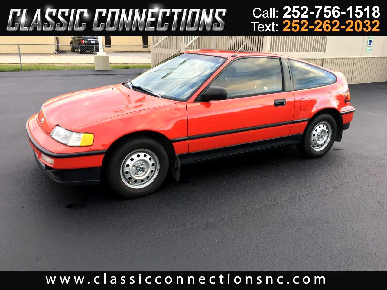 1991 Honda CRX 2dr Coupe HF 5-Spd