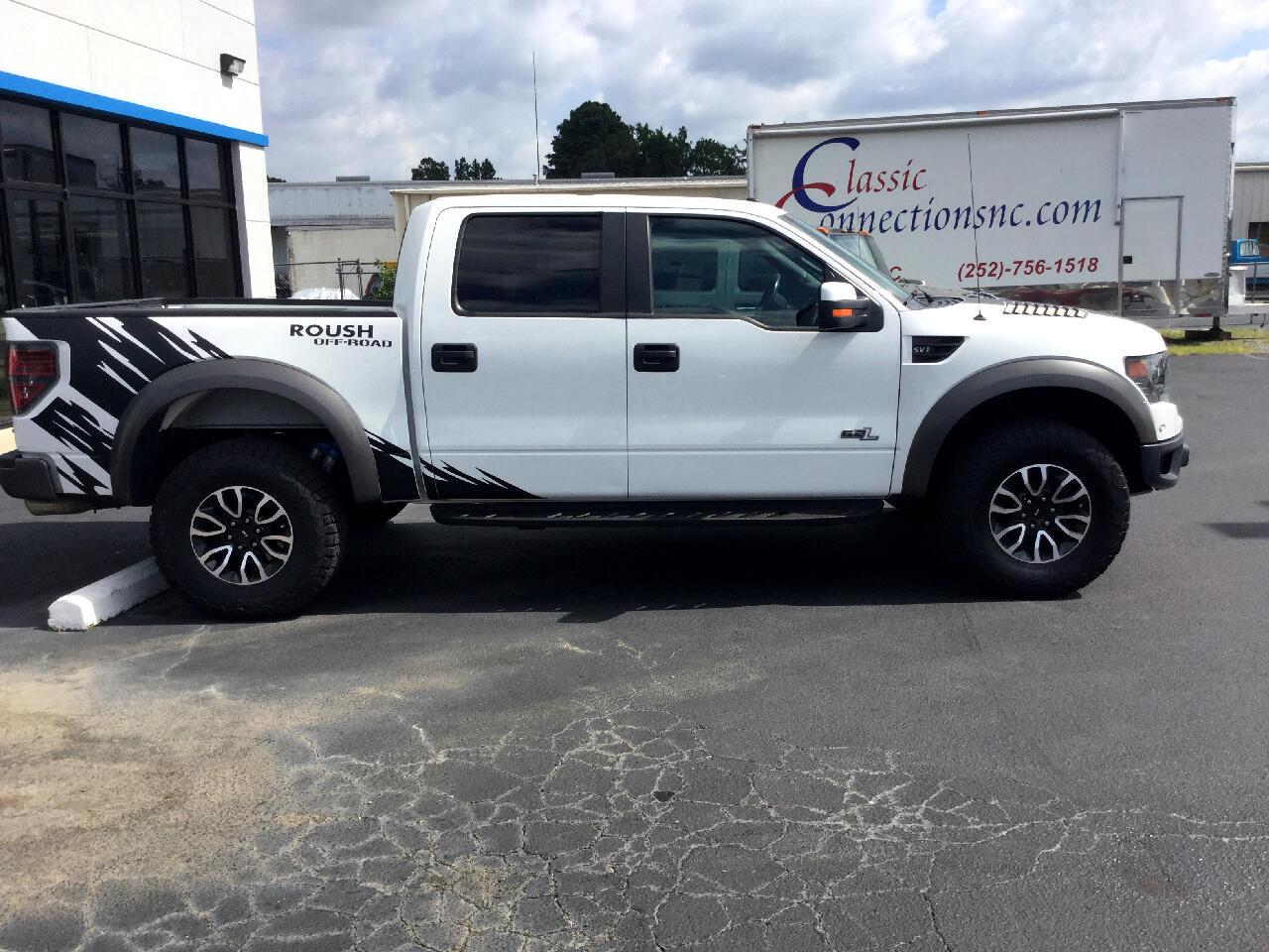 """Ford 1/2 Ton Trucks Styleside 133"""" WB 4WD 2013"""