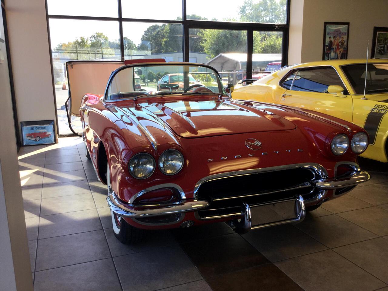 Chevrolet Corvette 2D Convertible 1962