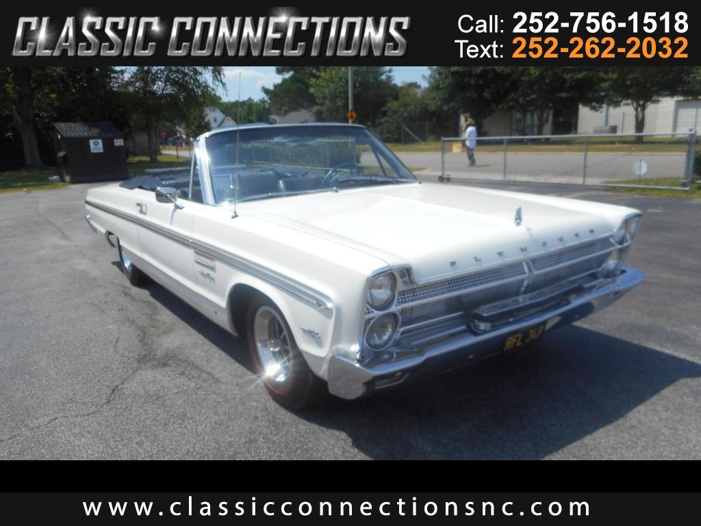 1965 Plymouth Fury convertable