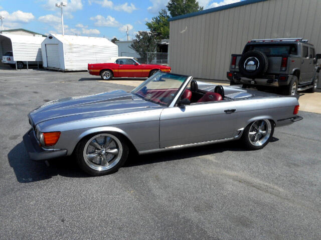 1981 Mercedes-Benz 380SL CONVERTIBLE