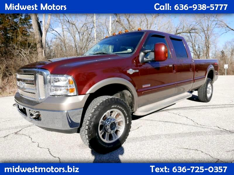 Ford F-350 SD King Ranch Crew Cab Long Bed 4WD 2005
