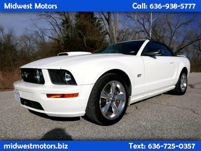 2008 Ford Mustang GT Premium Convertible