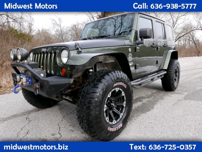 Jeep Wrangler Unlimited 4WD 4dr Sahara 2008