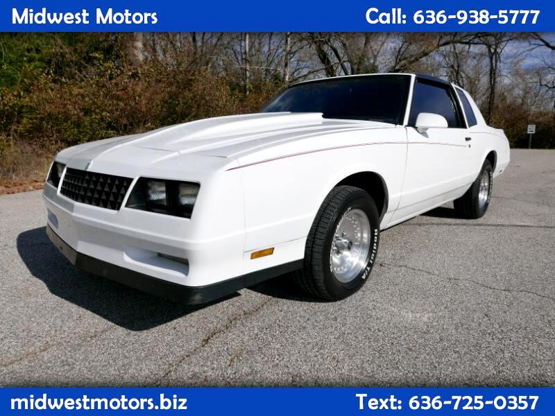Chevrolet Monte Carlo 2dr Coupe Sport SS 1986
