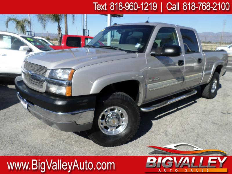 2004 Chevrolet Silverado 2500HD Crew Cab Short Bed 4WD LT