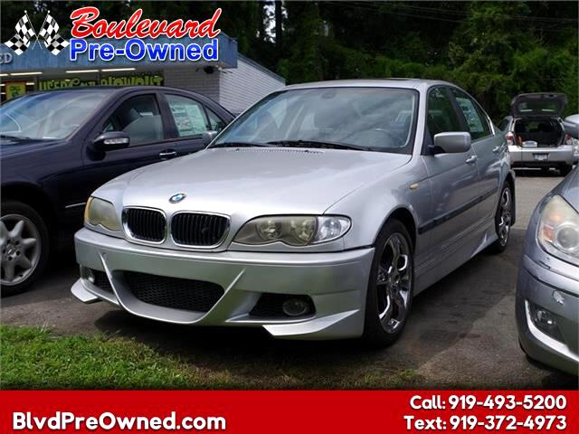 2002 BMW 3-Series 330xi 4dr Sdn AWD