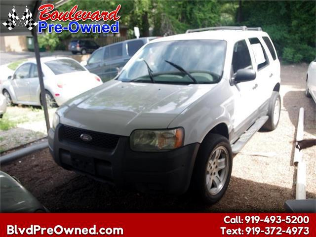 "2003 Ford Escape 4dr 103"" WB XLS Popular"