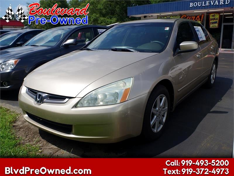 2004 Honda Accord Sdn EX Auto V6 w/Leather/XM