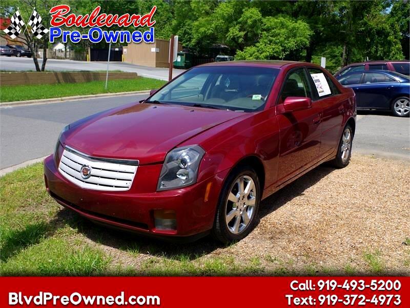 2007 Cadillac CTS 4dr Sdn 2.8L